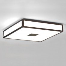 Astro Lighting - Mashiko 400 Square LED Emergency Basic 1121076 - IP44 Bronze Ceiling Light
