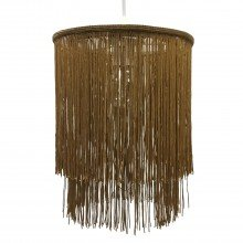 Gold 2 Tier Tassel Light Shade