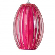 Pink Acrylic with Matching Diffuser Easy Fit Light Shade