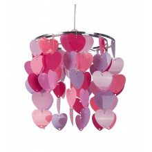 Pink Heart Easy Fit Light Shade