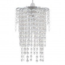 Cleared Jewelled Waterfall Light Shade