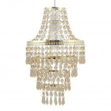 Gold Tiered Chandelier Style Light Shade