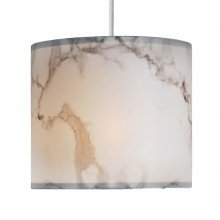 White Marble Print Ceiling Light Shade