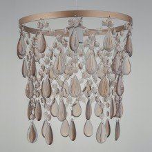 Rose Gold Jewelled Easy Fit Ceiling Light Shade