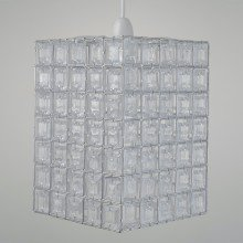 Clear Acrylic Jewelled Easy Fit Light Shade