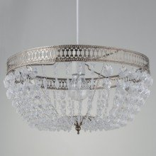 Antique Brass Deco Jewelled Easy Fit Light Shade