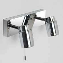 Astro Lighting - Como Twin 1282005 - IP44 Polished Chrome Spotlight