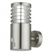 Bloom - Brushed Stainless Steel Outdoor Motion Sensor Light