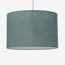 Slate Grey 20cm Linen Shade