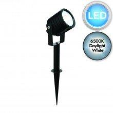 Black Aluminium LED Spot Spike Light