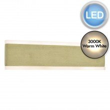 Culvey Brushed Gold LED Wall Light