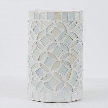 Pearlised Glass 17cm Table Light