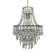 Jewelled Tiered Chandelier Style Light Shade