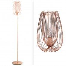 Copper Wire 60W E27 Table & Floor Lamp