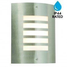 Brushed Stainless Steel Garden Wall Washer Light