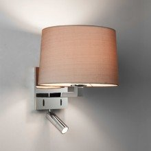 Astro Lighting - Azumi Reader LED 1142033 (7464) & 5013003 (4064) - Polished Chrome Reading Light with Oyster Shade Included