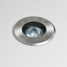 Astro Lighting - Gramos Round 1312001 (7131) - Coastal IP65 Brushed Stainless Steel Ground Light