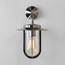 Astro Lighting - Montparnasse Wall 1096001 (484) - IP44 Polished Nickel Wall Light