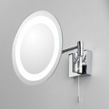 Astro Lighting - Genova 1055001 (356) - IP44 Polished Chrome Magnifying Mirror