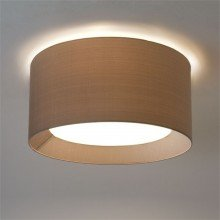 Astro Lighting - 4-Way Plate 1296002 & 5021009 - Matt White Back Plate with Oyster Shade