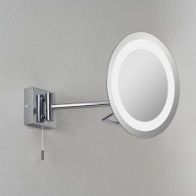 Astro Lighting - Gena 1097001 (488) - IP44 Polished Chrome Magnifying Mirror