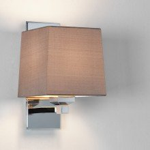 Astro Lighting - Lambro 220 1139004 (664) & 5010003 (4043) - Polished Nickel Wall Light with Oyster Shade Included