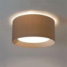 Astro Lighting - 3-Way Plate 1296001 & 5021011 - Matt White Back Plate with Oyster Shade