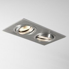 Astro Lighting - Taro Twin 1240018 (5649) - Brushed Aluminium Downlight/Recessed Spot Light