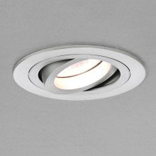Astro Lighting - Taro Round Adjustable 1240011 (5637) - Brushed Aluminium Downlight/Recessed Spot Light