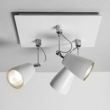 Astro Lighting - Polar Triple 1258002 (6005) - Matt White Spotlight