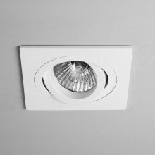Astro Lighting - Taro Square Adjustable Fire-Rated 1240030 (5678) - Fire Rated Matt White Downlight/Recessed Spot Light