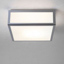 Astro Lighting - Mashiko 200 Square 1121009 (890) - IP44 Polished Chrome Ceiling Light