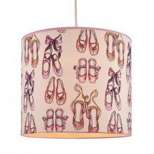 Pink Ballerina Ceiling Light Shade
