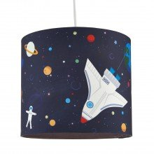 Space Rocket Ceiling Light Shade