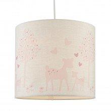 Pink Deer Ceiling Light Shade