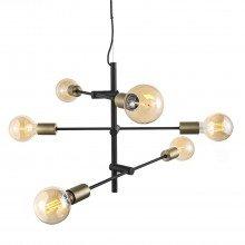Nordlux - Josefine Pendant Black & Brass - 48933003