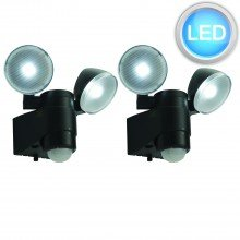 Set of 2 Battery Operated Outdoor Motion Sensor Lights