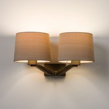 Astro Lighting - Montclair Twin 1364006 (7479) - Bronze Wall Light Excluding Shades