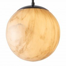 Marble Effect Globe Pendant