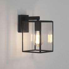 Astro Lighting - Box Lantern 270 1354003 (8048) - Textured Black Wall Light