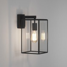 Astro Lighting - Box Lantern 350 1354004 (8049) - Textured Black Wall Light