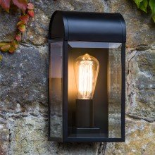 Astro Lighting - Newbury 1339001 (7267) - IP44 Textured Black Wall Light