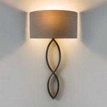 Astro Lighting - Caserta 1349002 (7372) & 5026003 (4137) - Matt Nickel Wall Light with Oyster Shade