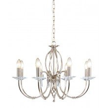 Elstead - Aegean AG8-POL-NICKEL Chandelier