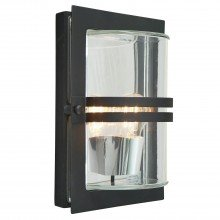 Elstead - Norlys - Basel BASEL-E27-BLK-C Flush Light