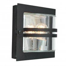 Elstead - Norlys - Bern BERN-E27-BLK-C Flush Light