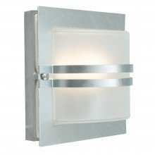 Elstead - Norlys - Bern BERN-E27-GAL-F Flush Light