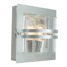 Elstead - Norlys - Bern BERN-E27-GAL-C Flush Light