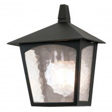 Elstead - York BL15-BLACK Half Lantern