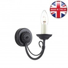 Elstead - Carisbrooke CB1-BLACK Wall Light